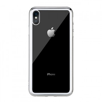 Чехол стеклянный WK Design Crysden Case Silver для iPhone XS Max