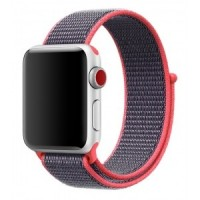 Ремешок Sport Loop Band 42/44mm Electric Pink для Apple Watch