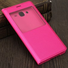 Чехол S View Cover Case Pink для Samsung Galaxy A5/A5100