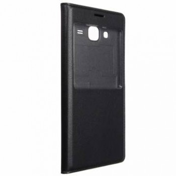 Чехол S View Cover Case Black для Samsung Galaxy J2 Ace