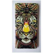 Чехол силиконовый с рисунком Lion для Samsung Galaxy J1