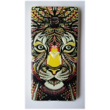 Чехол силиконовый с рисунком Lion для Samsung Note Edge