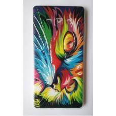 Чехол силиконовый с рисунком Cat Eyes для Samsung Galaxy J7