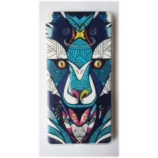 Чехол силиконовый с рисунком Wolf для Samsung Galaxy J1