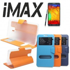 Чехол кожаный iMAX Gold для Samsung Galaxy J105F/J1 mini