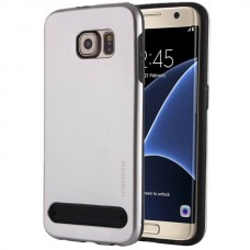 Чехол пластиковый Motomo Armor Metal TPU Protective Case Silver для Samsung Galaxy A5