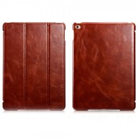 Чехол Icarer Vintage Series Коричневый для iPad Mini 4