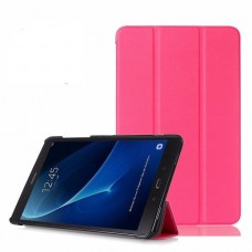 Чехол Apple Smart Cover Leafon Pink для Samsung Galaxy Tab 3 Lite T110/T111