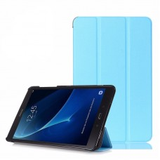 Чехол Apple Smart Cover Leafon Blue для Samsung Galaxy Tab 3 Lite T110/T111