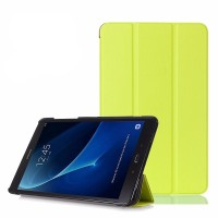 Чехол Smart Cover Leafon Yellow для Samsung Galaxy Tab 4 10.1 T530
