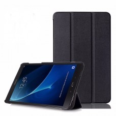 Чехол Apple Smart Cover Leafon Black для Samsung Galaxy Tab 3 Lite T110/T111