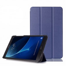 Чехол Apple Smart Cover Leafon Dark Blue для Samsung Galaxy Tab 3 Lite T110/T111