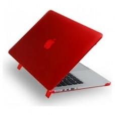 "Чехол пластиковый iPearl Ice Satin Case Red для MacBook Pro 13"" 2016"