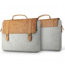 Сумка Baseus British коричнево серая для MacBook/ноутбука/планшета