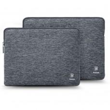 """Чехол Карман нейлоновый Baseus серый для Apple MacBook/ ноутбуков 13/15"""""""