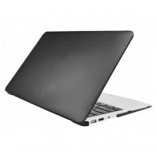 "Чехол пластиковый iPearl Crystal Case Black для MacBook Air 13"""