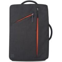 Рюкзак Moshi Venturo Slim Laptop Backpack Charcoal Black для Macbook/iPad/Ноутбука/Планшета