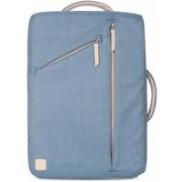 Рюкзак Moshi Venturo Slim Laptop Backpack Steel Blue для Macbook/iPad/Ноутбука/Планшета