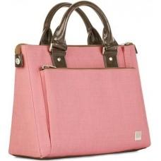 Сумка кожаная Moshi Urbana Mini Slim HandBag Coral Pink для MacBook