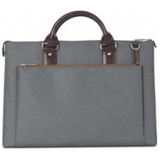 Сумка Moshi Urbana Mini Slim Laptop Briefcase Mineral Gray для MacBook/ноутбука/планшета