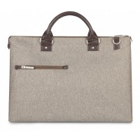 Сумка Moshi Urbana Mini Slim Laptop Briefcase SandStone Beige для MacBook/ноутбука/планшета