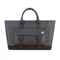 Сумка Moshi Costa Travel Satchel Granite Gray для MacBook/ноутбука/планшета