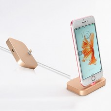 Докстанция COTEETCI Base 12 Lightning Dock Stand Gold для iPhone
