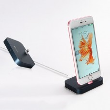 Докстанция COTEETCI Base 12 Lightning Dock Stand Black для iPhone
