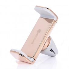 Автомобильный держатель Coteetci Base 7 Gold для iPhone/смартфона