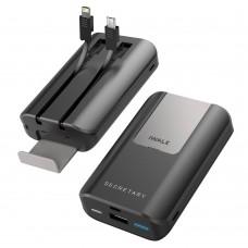Аккумулятор дополнительный универсальный iWalk Secretary Plus Grey 10000mAh для зарядки iPhone/iPad//Macbook/смартфонов/планшетов