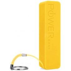 Аккумулятор внешний Power Bank 2000mAh Yellow