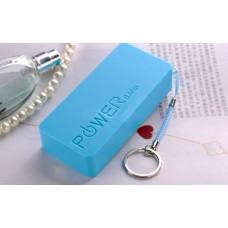 Аккумулятор внешний Power Bank 1500mAh Blue
