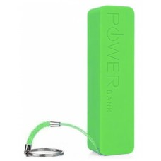 Аккумулятор внешний Power Bank 2000mAh Green