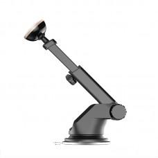 Автомобильный держатель магнитный Baseus Mechanical Era Black для iPhone/смартфона