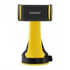 Автомобильный держатель Earldom 360 Degree Blaсk/Yellow для iPhone/смартфона