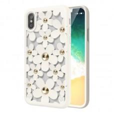 Чехол SwitchEasy Fleur for iPhone X белый