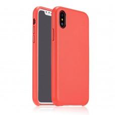 Чехол Coteetci Elegant PU Leather для iPhone X красный