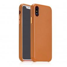 Чехол Coteetci Elegant PU Leather для iPhone X коричневый