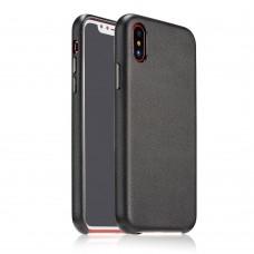 Чехол Coteetci Elegant PU Leather для iPhone X черный