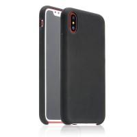 Чехол силиконовый Coteetci Black для iPhone X/XS