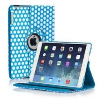 Чехол 360° Rotating Stand Case Polka Dot Blue Горошек для iPad Mini/ Mini 2/ Mini 3