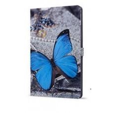 Чехол Art Case Paint Blue Butterfly Голубой для iPad Air 2