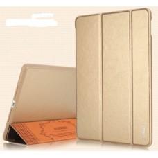 Кожаный чехол XUNDD Luxury Fashion Folded для iPad mini/mini2/mini3 - золотой