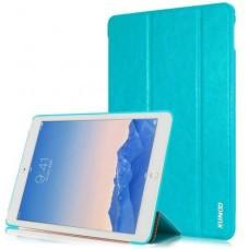 Чехол кожаный XUNDD Luxury Fashion Folded Голубой для iPad Air 2