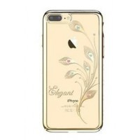 Чехол пластиковый Kingxbar Blink Ultra Thin Tapered Austria Crystal Gold для iPhone 7 Plus/8 Plus