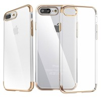 Чехол пластиковый Baseus Glitter Case Gold для iPhone 7 plus/8 plus