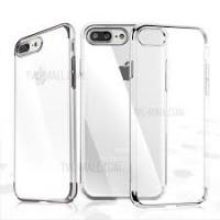 Чехол пластиковый Baseus Glitter Case Silver для iPhone 7 plus/8 plus