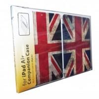 Чехол Hoco Retro Smart Cover Back Hard Case Great Britain Flag для iPad Air