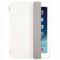 Чехол кожаный Apple Leather Smart Case White для iPad Air
