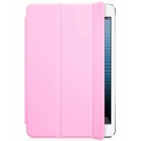 Чехол Apple Leather Smart Case Light Pink для iPad mini 3/iPad mini 2/iPad mini